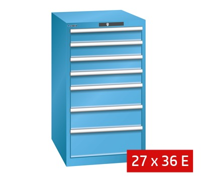Lista Drawer Cabinets 564mm W X 725mm D 75kg