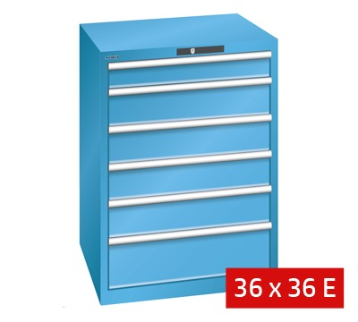 Lista Drawer Cabinets 717mm W x 725mm D 75kg