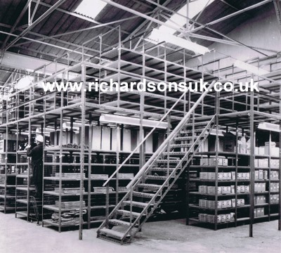 Slotted Angle: Richardsons Shelving - Racking, Storage, Lockers