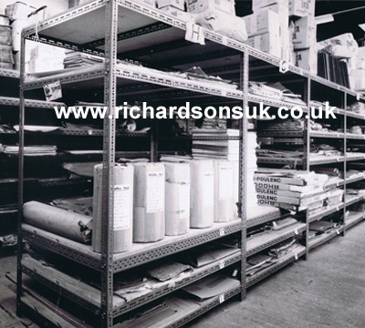 Slotted Angle: Richardsons Shelving - Racking, Storage