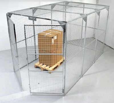 Mini and Maxi Box Mesh Cages
