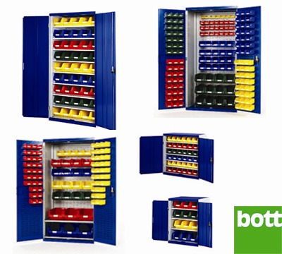 Bott Cupboards With Containers Richardsons Shelving