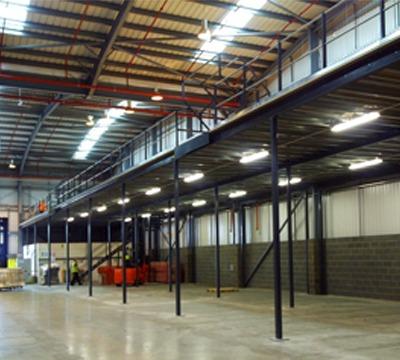 Mezzanine Floors: Richardsons Shelving - Racking, Storage