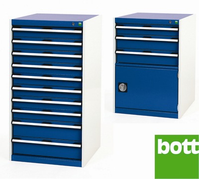 Bott Drawer Cabinets 650mm Wide x 650mm Deep