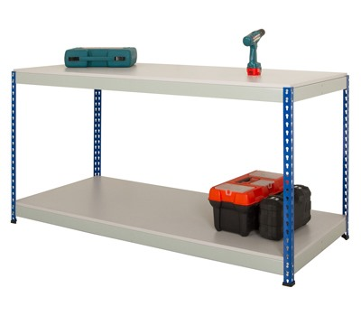 Rivet Workbench with Full Undershelf