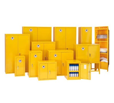 Flammable Storage Cabinets with 30 minute Fire Rating