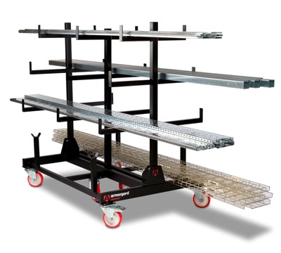 Mobile Pipe Rack Richardsons Shelving Racking Storage