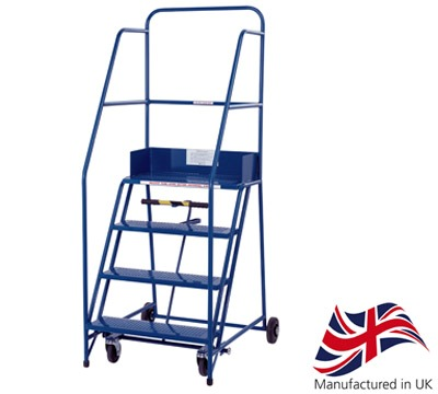 KW Extra Wide Industrial Mobile Steps