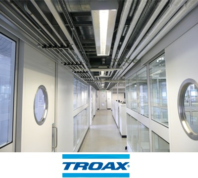Troax Titan Cleanroom Partitioning Richardsons Shelving
