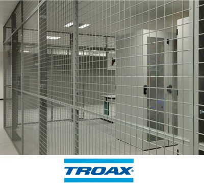 Troax Caelum Mesh Partitioning Richardsons Shelving