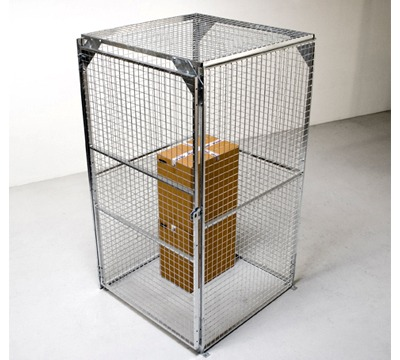 TROAX Mesh Security Cages