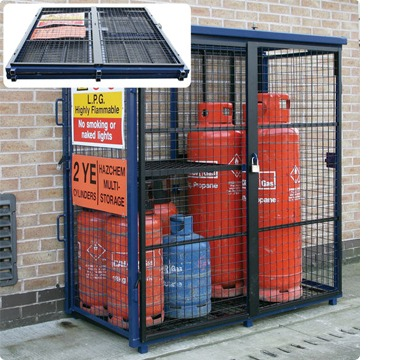photos of gas bottle cages - Gas Cylinder Cages