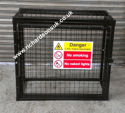 gas bottle storage cages - Gas Cylinder Cages