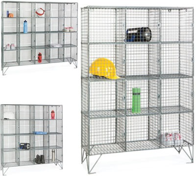 Mesh Compartment Lockers