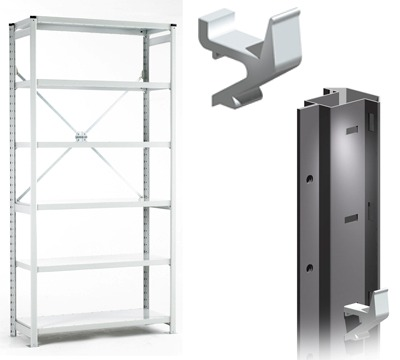 Euro Shelving Primary Components
