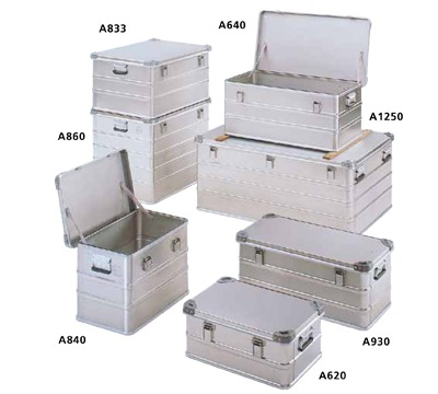 Bott Aluminium Transport Cases