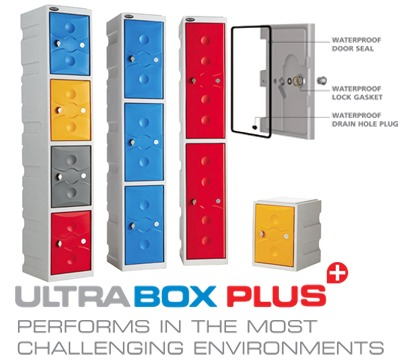 Ultrabox Plus Fully Water Proof Plastic Locker
