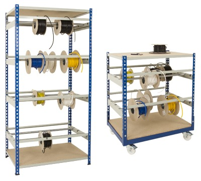 Rivet Racking Cable Reel Storage