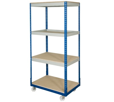 Rivet Racking Trolley Bays