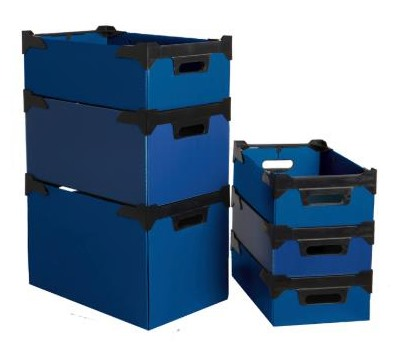 Stacking Boxes Polypropylene