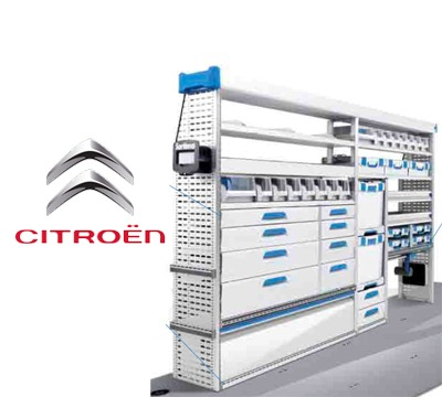 Sortimo Van Kits For Citroen