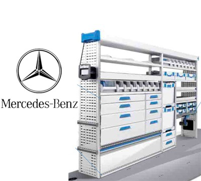 Sortimo Van Kits For MercedesBenz