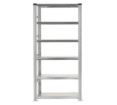 Galvanised Wide Span Shelving Bays 900mm wide with 6 levels