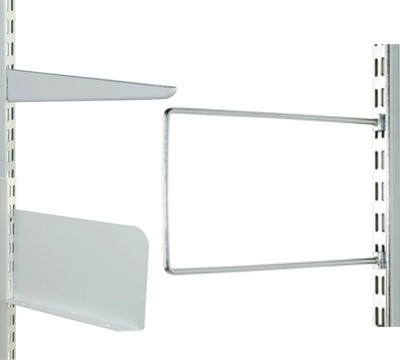 White Twinslot Shelving Trade Prices