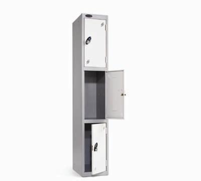 Probe Three Door Lockers Richardsons Shelving Racking