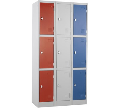 Atlas Three Door Lockers