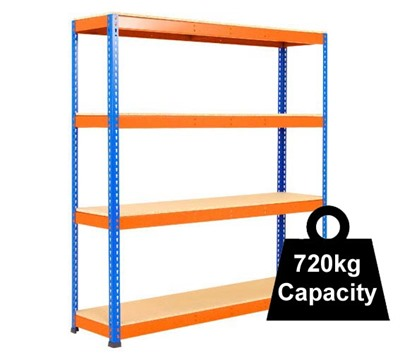Heavy Duty Rapid 1 Racking 1525mm 1830mm wide