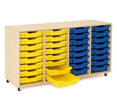 Shallow Tray Gratnells Storage Units