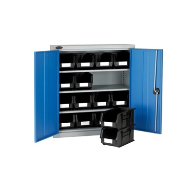 Half Height Cabinet with Linbins