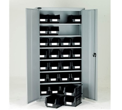 Full Height Cabinet with Linbins