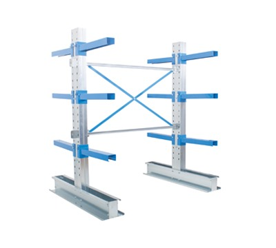 Adjustable Double Sided Cantilever Racking