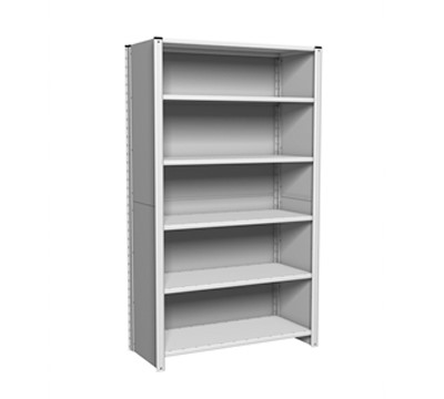 Link 51 Euro Shelving Clad Bay 1800mm Height