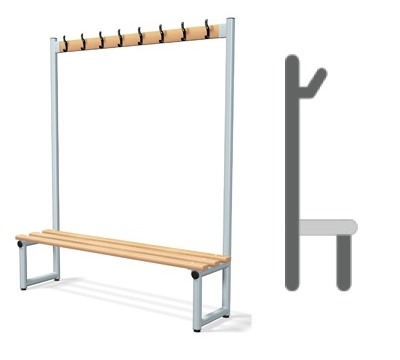 Single Sided Hook Bench