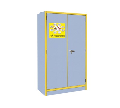 Flammable Storage Cabinet with 30 Minute Fire Rating