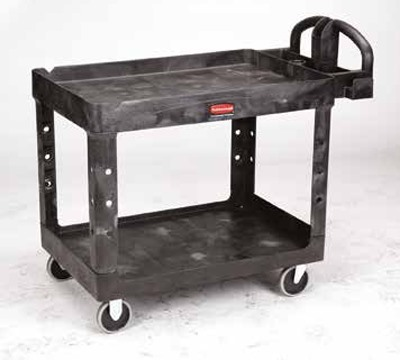 HeavyDuty Utility Carts Lipped Shelves