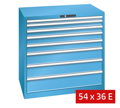 Lista Drawer Cabinets 1023mm W x 725mm D 75kg