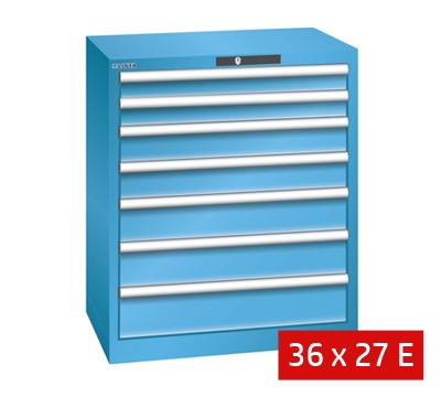 Lista Drawer Cabinets 717mm W x 572mm D 75kg