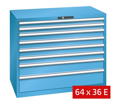 Lista Drawer Cabinets 1193mm W x 725mm D 200kg