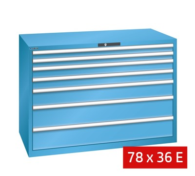 Lista Drawer Cabinets 1431mm W x 725mm D 200kg
