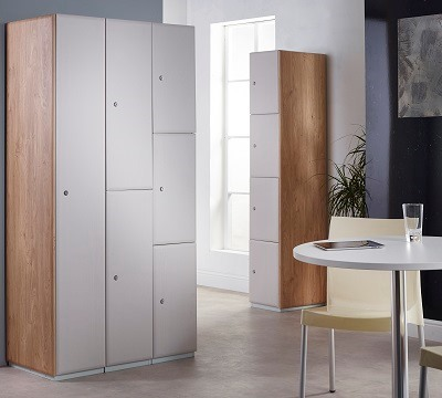 Executive Laminate Door Lockers 380mm Width 380mm Depth