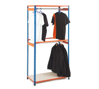 Two Level Rapid 2 Garment Racking