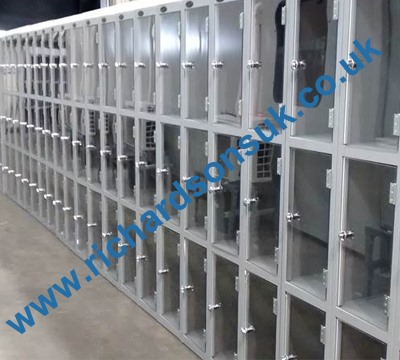 Probe Clear Door Lockers Richardsons Shelving Racking