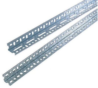 Galvanised Slotted Angle