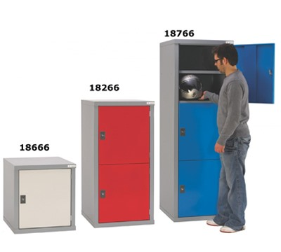 Large Cube Lockers 600mm wide x 600mm deep