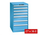 Lista Drawer Cabinets 564mm W x 725mm D (75kg)