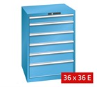 Lista Drawer Cabinets 717mm W x 725mm D (75kg)